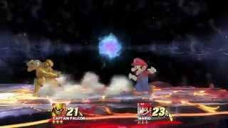 """Captain Falcon's """"Wind-Up Raptor Boost"""" Glitch/Abuse of Physics"""