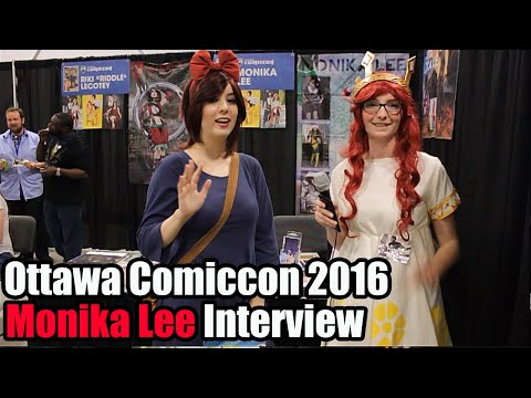Ottawa Comiccon 2016 Monika Lee Interview