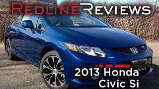 2013 Honda Civic Si Review, Walkaround, Exhaust,&Test Drive