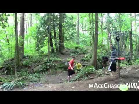 Disc Golf Skill Shots and Aces 2014