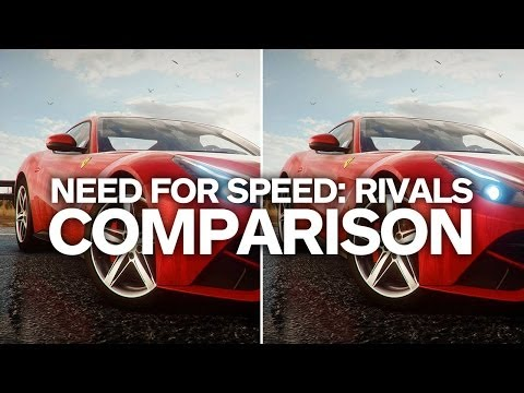 сравнение графики need for speed 2015
