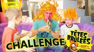 Video CHALLENGE TÊTES BRULÉES avec JOAN de GULLI - Défi Arrache Tête : La Bouche en Feu !!! MP3, 3GP, MP4, WEBM, AVI, FLV Oktober 2017
