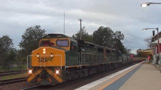 Muswellbrook Australia  city images : Australian Rail: Hunter Valley Rail Action at Muswellbrook Station