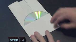 Download Lagu How to Make a CD or DVD Case Out of a Piece Of Paper Mp3