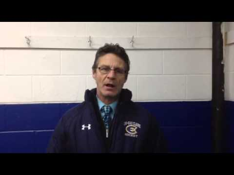 Women's Hockey:  Coach Collins Recaps 3-1 Win at St. Catherine
