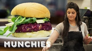 How-To: Make a Veggie Burger with Cara Nicoletti by Munchies