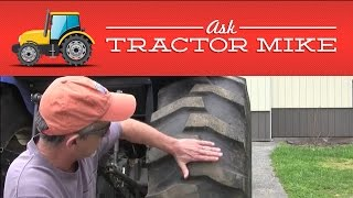 6. Proper Tractor Tire Inflation
