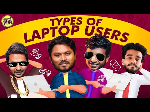 Types Of Laptop Users | Random Videos | Unakkennapaa