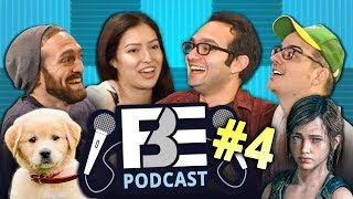 FBE Podcast #4 w/ Tori from Teens React! Covering K-Pop comments, office dogs & Let's Plays.Follow us on SoundCloud: https://soundcloud.com/fbepodcast or iTunes: https://goo.gl/DSdGFTWatch the last podcast here: https://goo.gl/yA9MBGSUBSCRIBE THEN HIT THE 🔔! New Videos 2pm PST on FBE! http://goo.gl/aFu8CWatch latest videos from FBE: https://goo.gl/aU5PSmWe wanted to start a podcast to respond more to anyone that may be interested in who we are and what we do here at FBE. We don't expect this to be anywhere as popular as what we're known for, but hopefully this gives us a chance to hang out and respond to viewers who are interested.So send us questions! Let us know what you'd like this show to become! Should we talk about what we're actively shooting each week (spoilers for upcoming videos)? Or projects we're working on? Or just life in general? You decide!We're aiming for this to become a weekly thing, but we'll see how well we do out of the gate. We make SOO many videos each week that we're forced to record this after hours for now, as it's the only time left any of us have.So hang out! Follow us on SoundCloud or iTunes, you never know who might drop by. -JonHosts:Jonathan Green (no, not that John Green)http://www.twitter.com/thejonshowBenny Finehttp://www.twitter.com/bennyfineRafi Finehttp://www.twitter.com/rafifineSpecial Guest: Tori from Teens React!Follow Fine Brothers Entertainment:FBE WEBSITE: http://www.finebrosent.comFBE CHANNEL: http://www.youtube.com/FBEREACT CHANNEL: http://www.youtube.com/REACTBONUS CHANNEL: https://www.youtube.com/FBE2FACEBOOK: http://www.facebook.com/FineBrosTWITTER: http://www.twitter.com/thefinebrosINSTAGRAM: http://www.instagram.com/fbeSNAPCHAT: https://www.snapchat.com/add/finebrosTUMBLR: http://fbeofficial.tumblr.com/MUSICAL.LY: @fbeLIVE.LY: @fbeSoundCloud: https://soundcloud.com/fbepodcastiTunes: https://goo.gl/DSdGFTSEND US STUFF:FBEP.O. BOX 4324Valley Village, CA 91617-4324Creators & Executive Producers - Benny Fine, Rafi Fine, Jonathan GreenDirector of Development & Programming, Audience Engagement - Melissa JudsonDirector of Production - Drew RoderCamera - Joshua HiltonMusic by:1986 - Rubix Cube (intro)1986 - Disco (shoutouts)1986 - Circles (outro)© Fine Brothers Entertainment.FBE PODCAST #4  Filming Teens React, K-Pop Comments, Office Dogs!