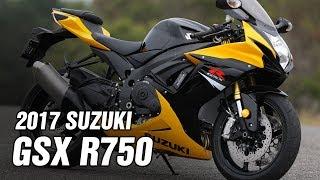 5. 2017 Suzuki GSX R750 Spec