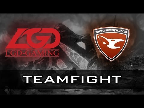 LGD vs Mouz Final Teamfight | The International 2014 Dota 2