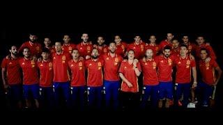 La Roja Baila Himno Oficial de la Selección Española Videoclip Oficial