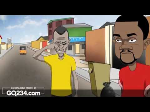 Funny Cartoon Video - My Eye By GhenGhen Jokes [GutsyNaija.com]
