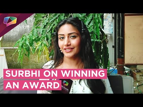 Surbhi Chandna Shares About Winning