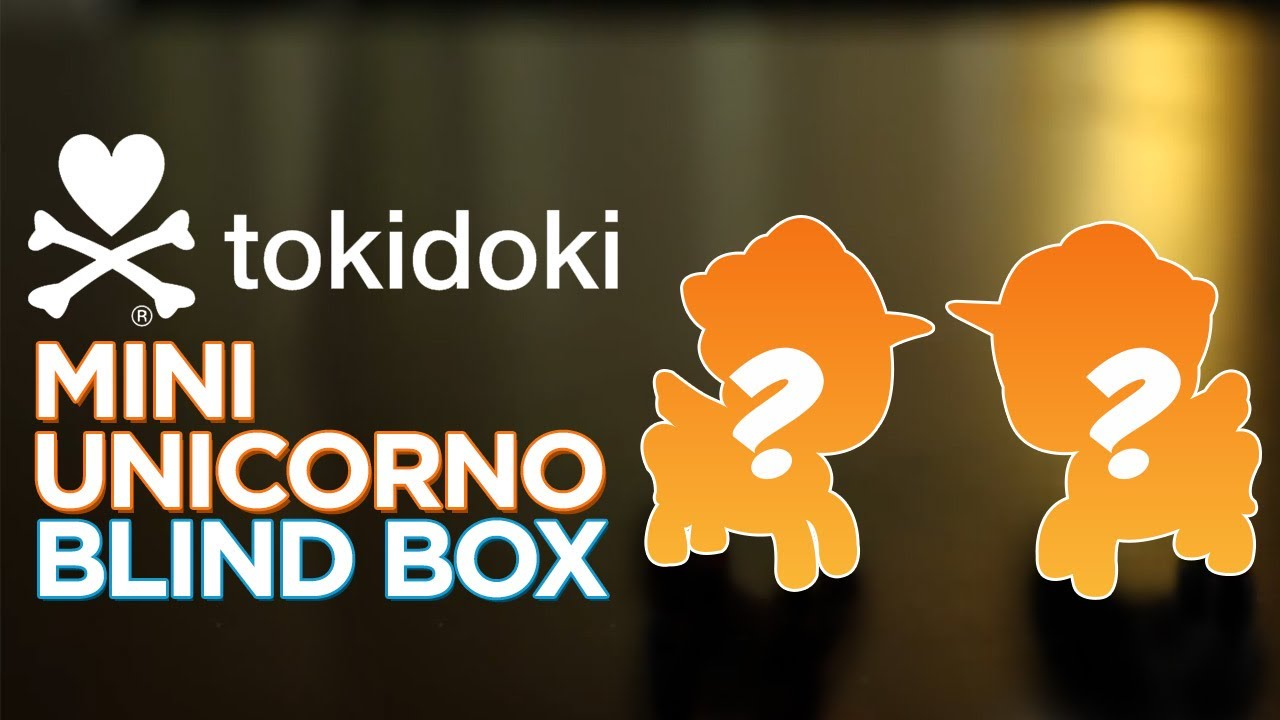 Tokidoki Mini Unicorno Blind Box Ep 2