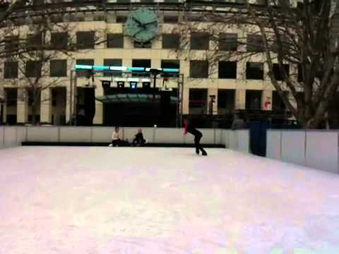 Skate in the City: dancing on ice