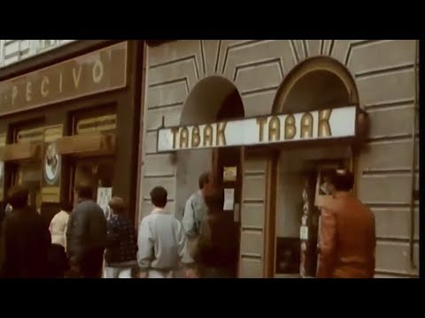 VIDEO: Bratislava - Zmeny na Obchodnej (1990)