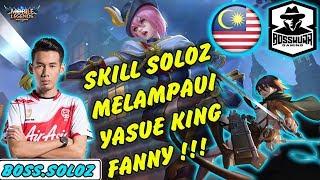Video Skill Soloz Melampaui Yasue !!! Hanya Fanny Soloz yang Tornadonya Seperti ini !! Mobile Legends MP3, 3GP, MP4, WEBM, AVI, FLV Desember 2018