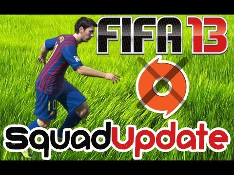 FIFA 13 Squads | How To Update Tutorial (Without Origin) PC