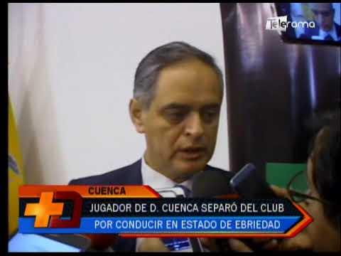 Jugador de D. Cuenca separado del club por conducir en estado de ebriedad