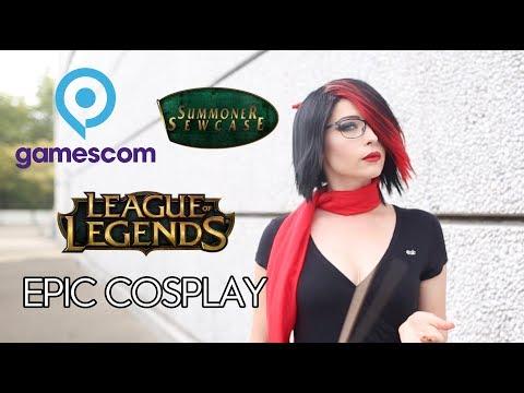 Gamescom 2018 - League Of Legends - Epic Cosplay
