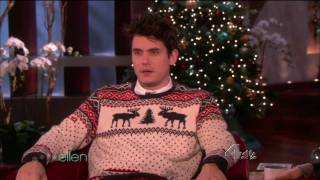 Video John Mayer - Ellen Degeneres Show Pt.1[12/15/09] MP3, 3GP, MP4, WEBM, AVI, FLV Agustus 2018