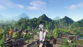 Видео к игре Moonlight Blade из публикации: Начало ЗБТ Moonlight Blade и стрим от китайского игрока