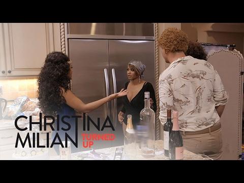 Christina Milian Turned Up   Family Fight Overshadows Carmen's Birthday Party   E! Entertainment