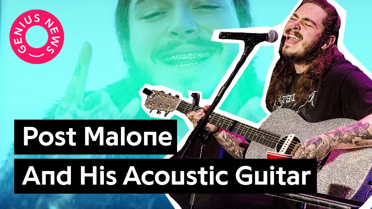 """Post Malone's """"Stay"""" And His Acoustic Guitar Skills 