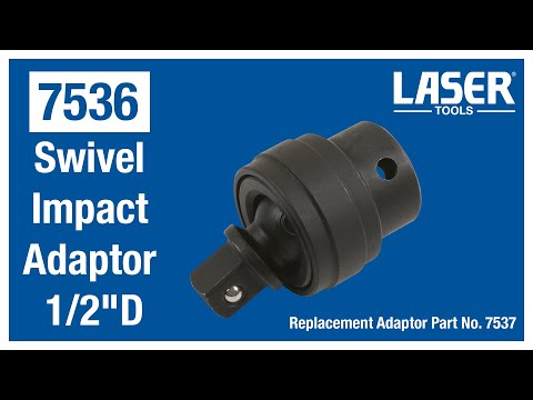 7536 Swivel Impact Adaptor 1/2