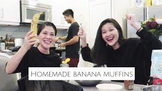 動手做-跟姊姊一起做簡單好吃的香蕉馬芬