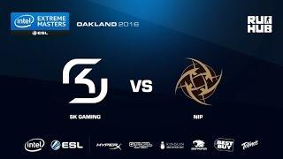 IEM Oakland - NiP vs SK Gaming - map1 - de_train - [Enkanis, yxo]