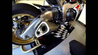 7. 2014 Honda CBR1000RR SP Yoshimura R-22 Slip-on Exhaust:  Before & After
