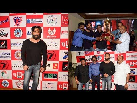 Suniel Shetty Present At Launch Of Supremo Chashak