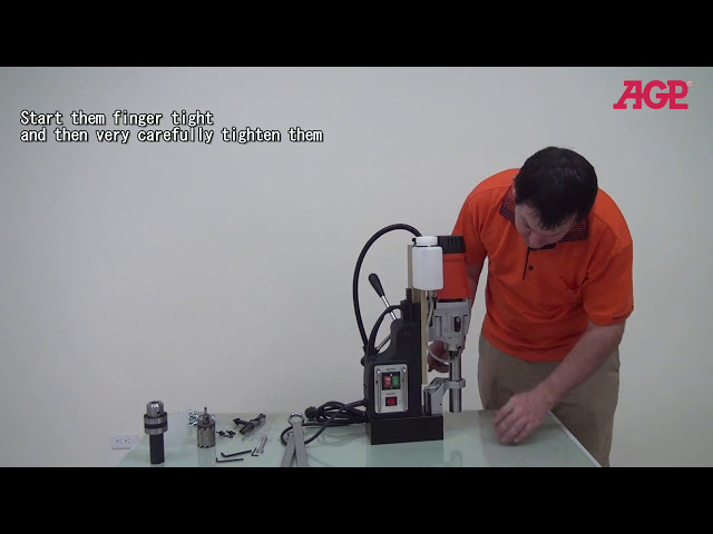 AGP MD500/2 Two speed magnetic Drilling Machine - Introduction & Operation