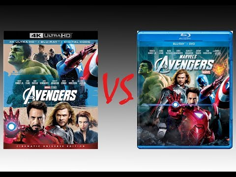 ▶ Comparison Of Avengers 4K HDR10 Vs Avengers 2012 Blu-Ray Edition