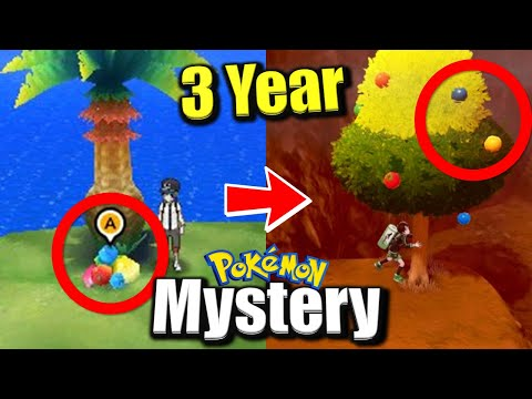 3 Year Old Pokémon Mystery No-One Knew About • Solved!! Berry Trees