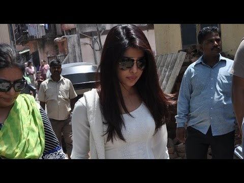 Priyanka Chopra Pays Final Respects To Assistant