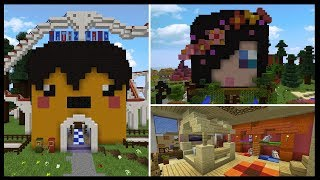 INSIDE YOUTUBERS MINDS [3] | Minecraft Custom Themed Builds!