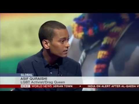 Asifa Lahore/Asif Quraishi & Celina Jaitly on BBC World News