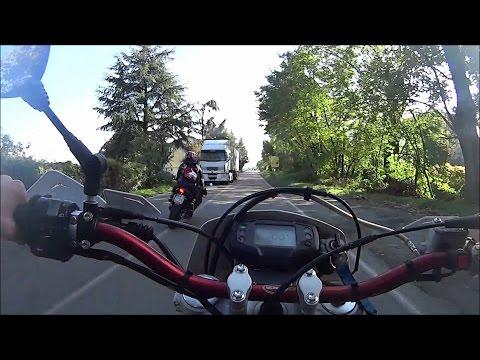 RISCHIATO INCIDENTE | PROVA Husqvarna cr 250 & Suzuki rm 125