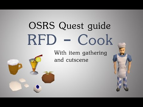 [OSRS] Recipe For Disaster - Cook Quest Guide
