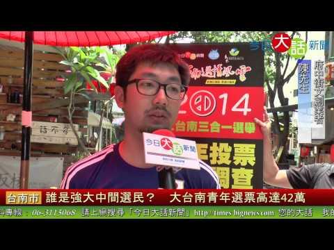 誰是強大中間選民? 大台南青年選票高達42萬