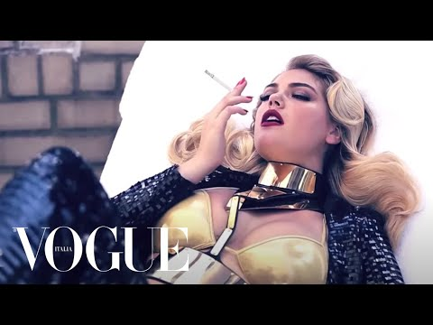 vogue - Kate Upton photographed by Steven Meisel. Video by Gordon Von Steiner Flip through the complete Cover Story on www.vogue.it: http://bit.ly/UqKkA1.