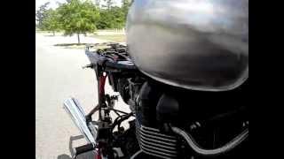 9. first Chimera engine run (hand-craft triumph bonneville by Ashton Technica)
