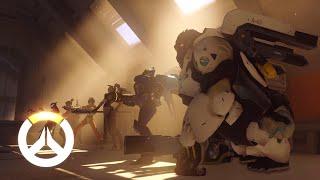 Внутриигровой ролик Overwatch
