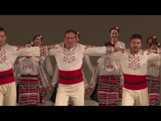 "BULGARIAN DANCE ENSEMBLE ""OT IZVORA"" IN RUSSIA - Saint Petersburg 2016"