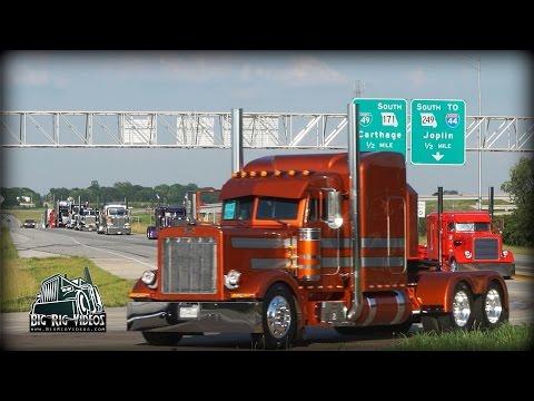 Super Rigs Convoy - Equipment Express / J&L Contracting