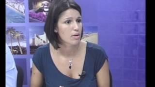 """Pulsa para ver el vídeo - """"En Persona"""" Canal 13 Digital Nº 964; entrevista a Mencey Navarro y Tania Alonso."""