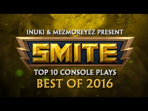 SMITE - Top 10 Console Plays of 2016 (видео)